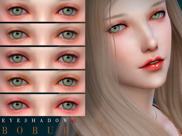 Sims 4 Eyeshadow 41 by Bobur3 at TSR