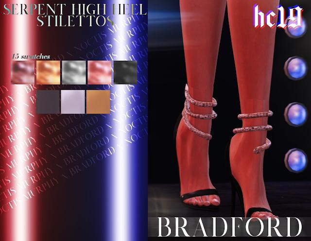 Sims 4 Serpent High Heel Stilettos at MURPHY
