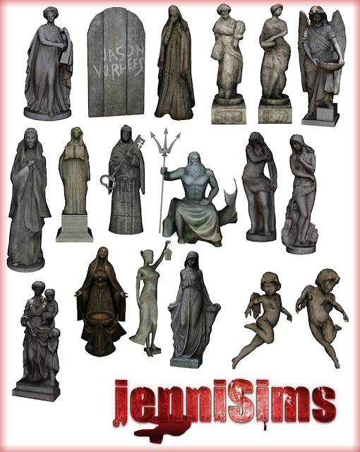 Decorative Statues 19 Items at Jenni Sims image 1392 Sims 4 Updates