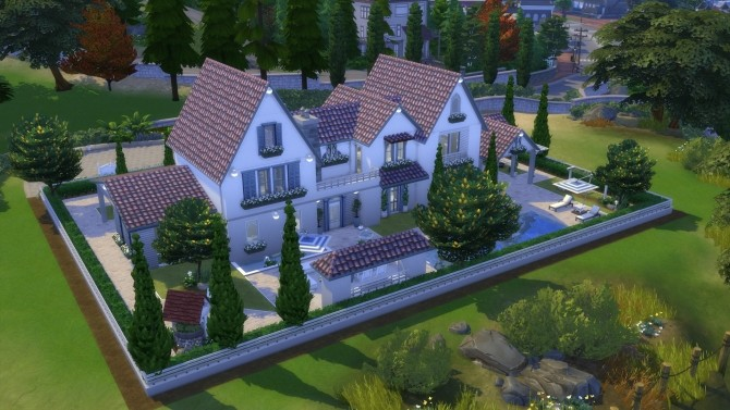 Sims 4 French house by jordan1996 at L'UniverSims