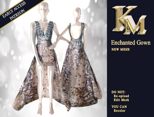 Enchanted Gown at KM image 14111 Sims 4 Updates