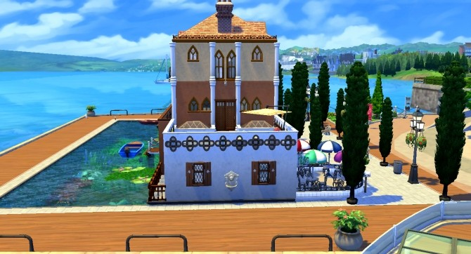 Sims 4 Venise Plaza by valbreizh at Mod The Sims