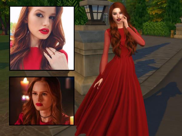 Sims 4 Cheryl Blossom by divaka45 at TSR