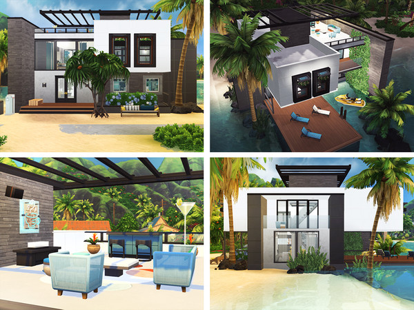 Rene house by Rirann at TSR image 1439 Sims 4 Updates