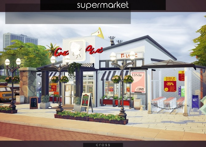 Supermarket at Cross Design image 1457 670x479 Sims 4 Updates