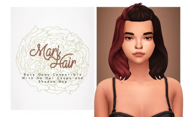 Mari professional mom hair at Isjao – working on uni image 1463 670x410 Sims 4 Updates