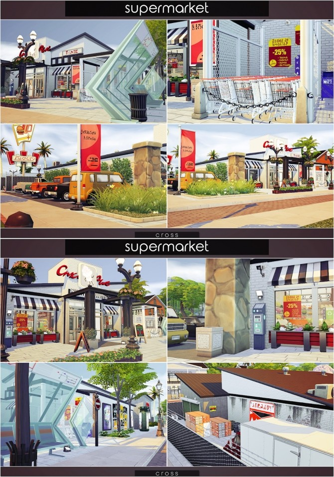 Supermarket at Cross Design image 1467 670x957 Sims 4 Updates