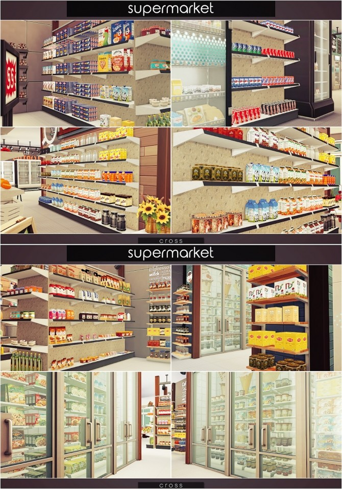 Supermarket at Cross Design image 1477 670x957 Sims 4 Updates