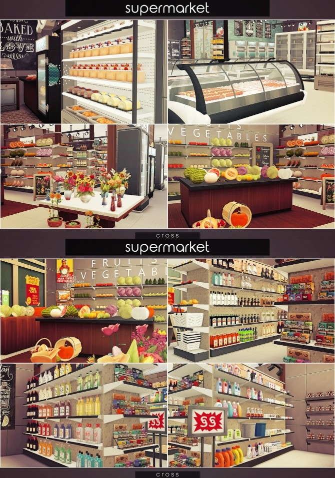 Supermarket at Cross Design image 1487 670x957 Sims 4 Updates
