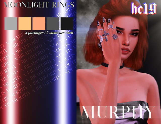 Moonlight Rings at MURPHY image 1488 Sims 4 Updates