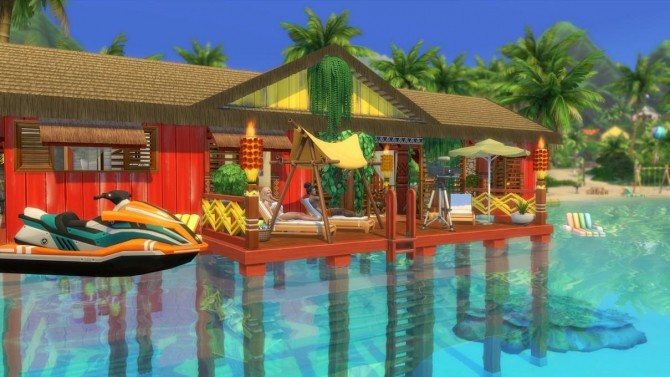 Sims 4 Temanava house by chipie cyrano at L'UniverSims
