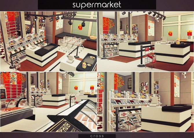 Supermarket at Cross Design image 1497 670x479 Sims 4 Updates