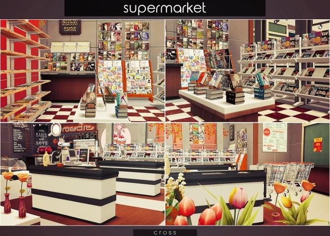 Supermarket at Cross Design image 1507 670x479 Sims 4 Updates