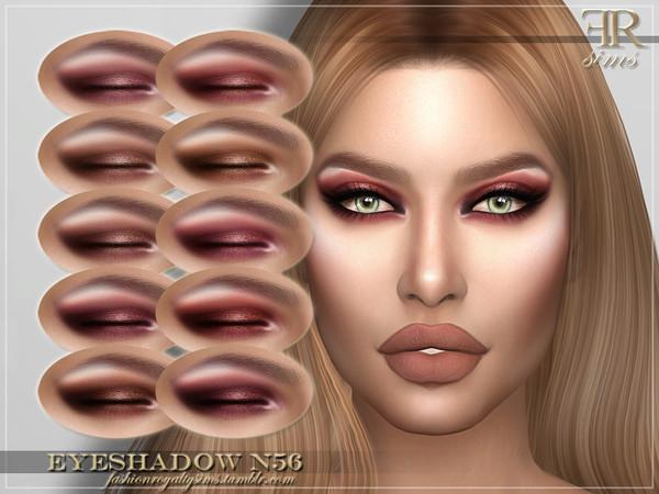 Sims 4 FRS Eyeshadow N56 by FashionRoyaltySims at TSR