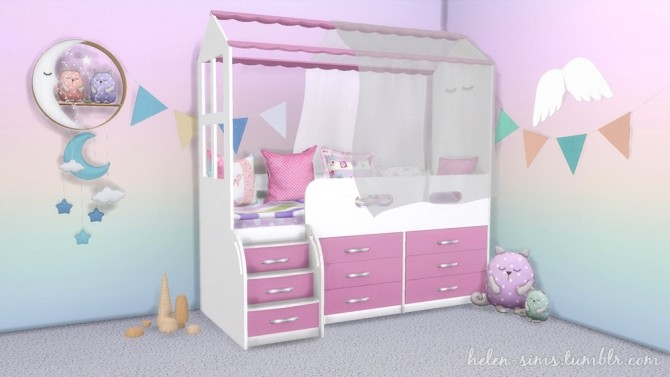 Dream Kids Room at Helen Sims image 1526 670x377 Sims 4 Updates
