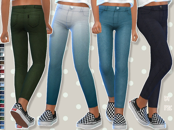 High Waisted Denim Jeans For Children by Pinkzombiecupcakes at TSR image 1527 Sims 4 Updates