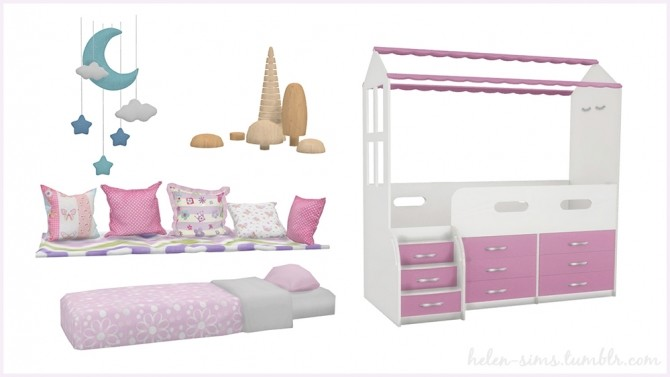 Dream Kids Room at Helen Sims image 1534 670x377 Sims 4 Updates