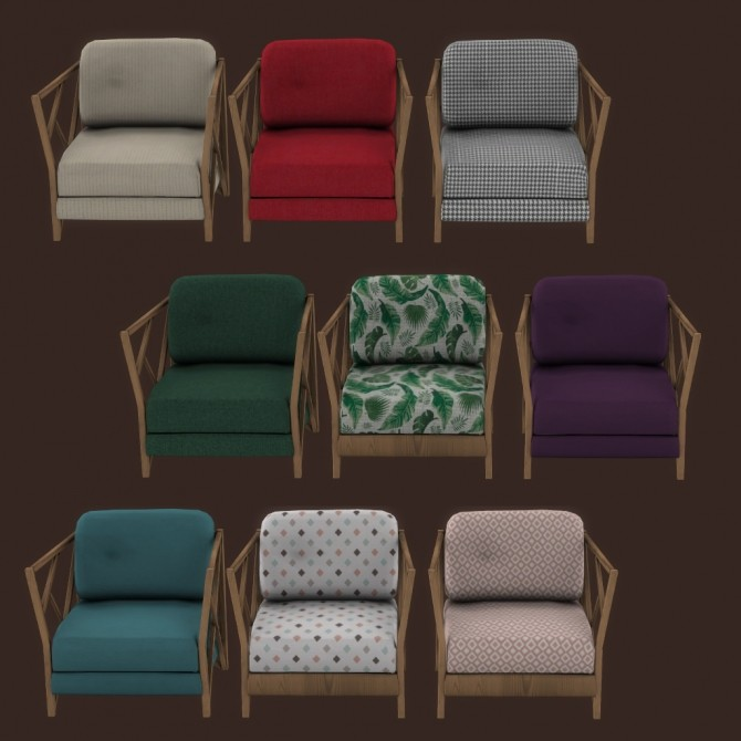Patio Chair at Leo Sims image 1562 670x670 Sims 4 Updates