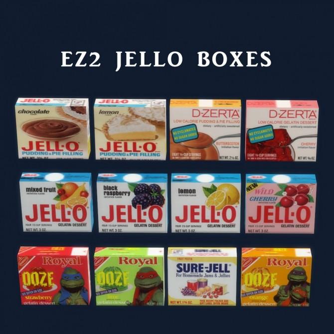Jello Boxes at Leo Sims image 1572 670x670 Sims 4 Updates