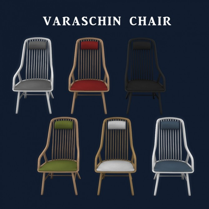 Varaschin Chair at Leo Sims image 1582 670x670 Sims 4 Updates