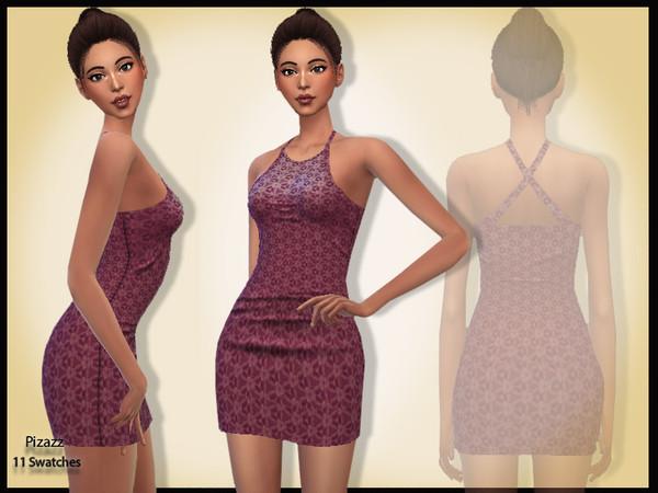 Sims 4 Mini Party Dress v 004 by pizazz at TSR
