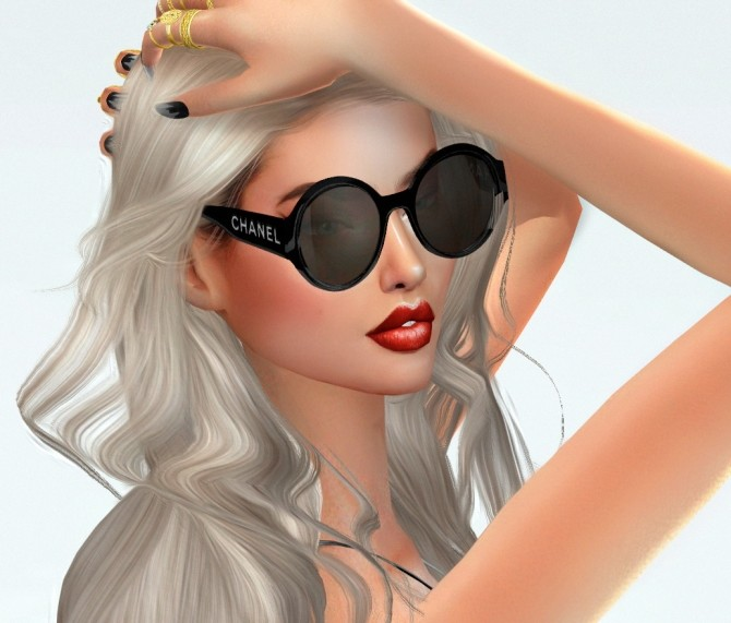 GLASSES by Sayumi Ruchell at Ruchell Sims image 1622 670x571 Sims 4 Updates