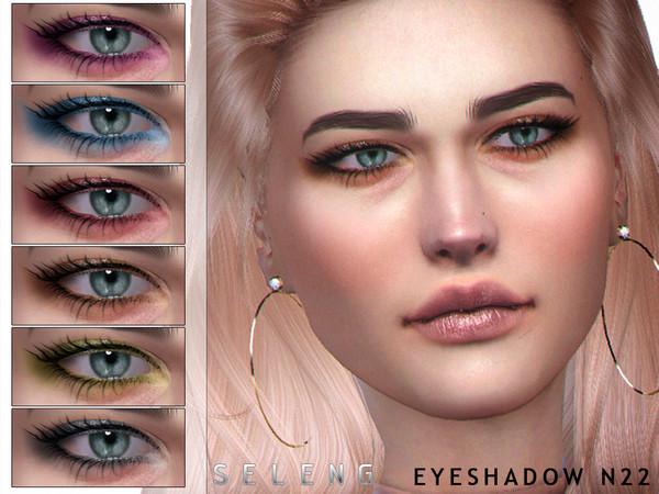 Sims 4 Eyeshadow N22 by Seleng at TSR