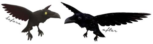 Sims 4 Raven familiar override at Blue Ancolia