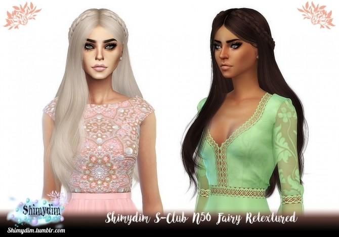 S Club N50 Fairy Hair Retexture Naturals + Unnaturals at Shimydim Sims image 1647 670x468 Sims 4 Updates