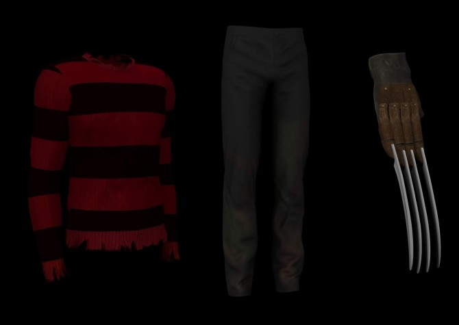 Sims 4 Freddies outfit at LazyEyelids