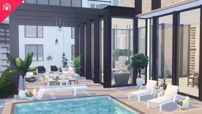 Modern Scandi Penthouse at Harrie image 1681 670x377 Sims 4 Updates