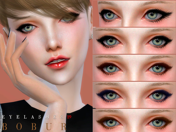 Eyelashes 19 by Bobur3 at TSR image 1715 Sims 4 Updates