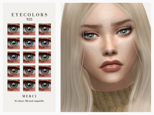 Eyecolors N25 by Merci at TSR image 1719 Sims 4 Updates