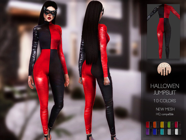 Sims 4 Hallowen Jumpsuit BD123 by busra tr at TSR