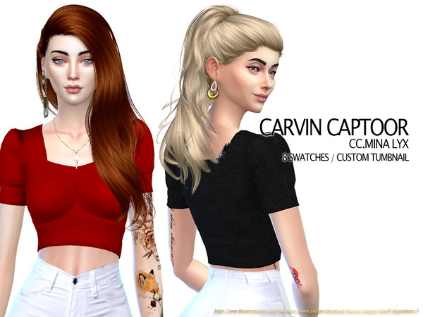 Sims 4 Mina Lyx by carvin captoor at TSR
