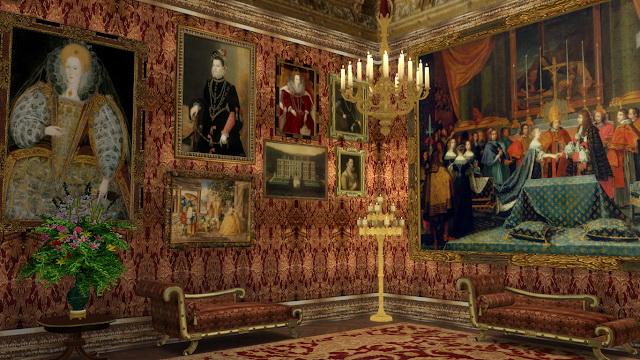 Royal Decor Set at Regal Sims image 174 Sims 4 Updates
