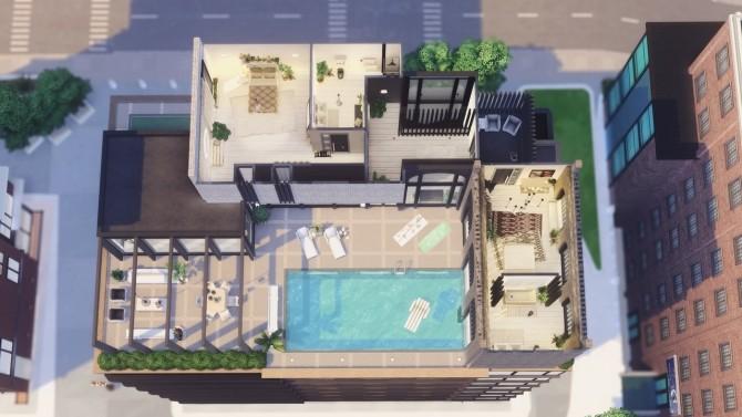Modern Scandi Penthouse at Harrie image 1741 670x377 Sims 4 Updates