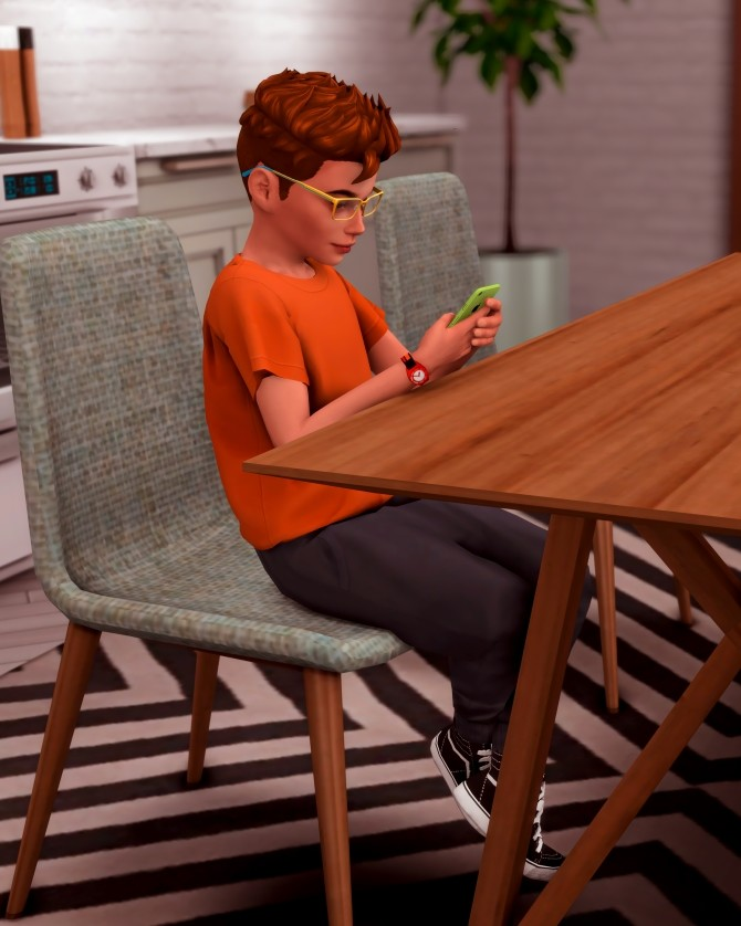 Kids with their Phone Poses at Katverse image 1761 670x838 Sims 4 Updates