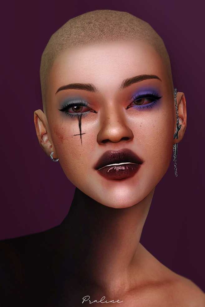 Simblreen 2019 treats 427 swatches and variations at Praline Sims image 1764 Sims 4 Updates