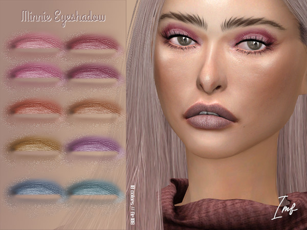 IMF Minnie Eyeshadow N.108 by IzzieMcFire at TSR image 1818 Sims 4 Updates