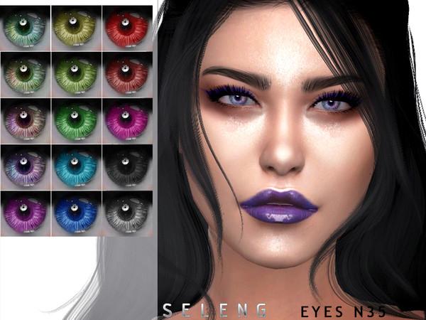 Sims 4 Eyes N35 by Seleng at TSR