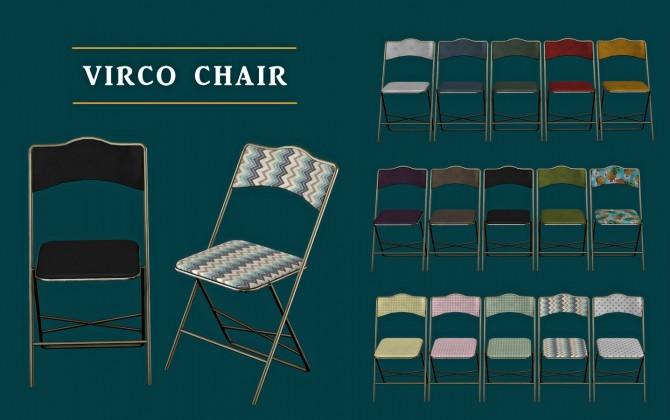 Sims 4 Virco Chair (P) at Leo Sims