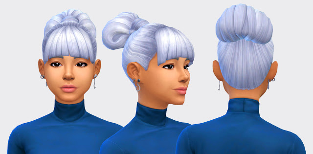 Sims 4 Muffin and Mousse Hairs (P) at Pickypikachu