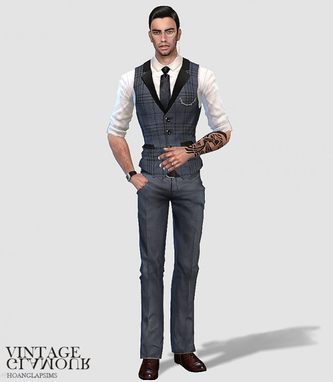 Vintage gentlemen set at HoangLap's Sims image 1871 670x768 Sims 4 Updates