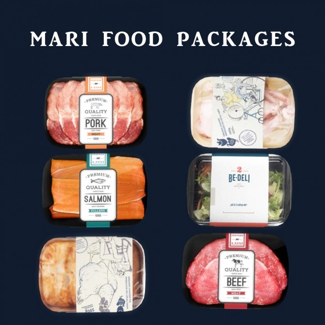 Sims 4 Mari Food Packages at Leo Sims