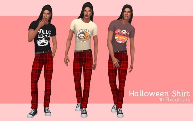 Halloween shirt at Midnightskysims image 1903 670x419 Sims 4 Updates