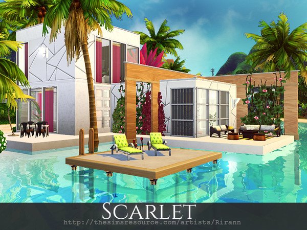 Scarlet house by Rirann at TSR image 1930 Sims 4 Updates