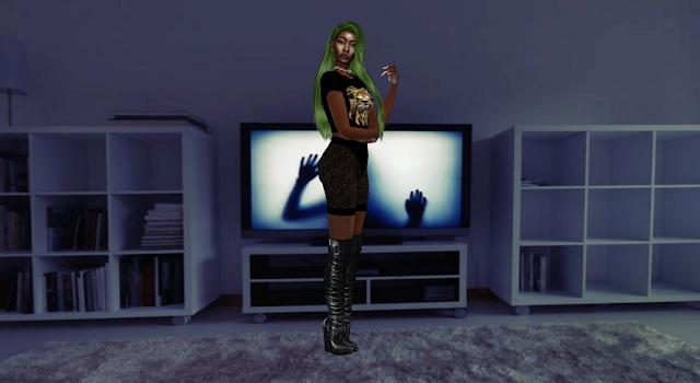 Halloween CAS Backgrounds at Teenageeaglerunner image 198 Sims 4 Updates