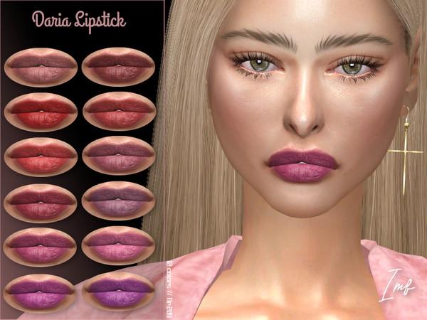 Sims 4 IMF Daria Lipstick N.209 by IzzieMcFire at TSR