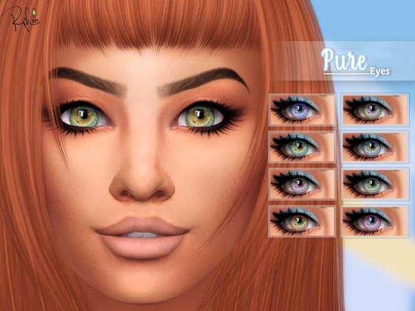 Pure eyes by RobertaPLobo at TSR image 2013 Sims 4 Updates